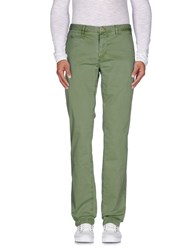 Jaggy Trousers Casual Trousers Men Green