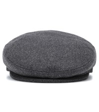 Isabel Marant Gabor Wool Blend Hat Grey