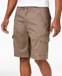 Inc International Concepts I.N.C. Shook Cargo 11 Shorts Taupe Tone