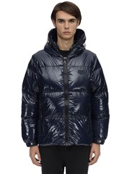 Duvetica Auvadue Nylon Down Jacket Navy