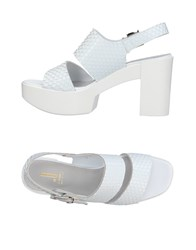 Jeannot Sandals White