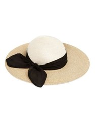 Eugenia Kim Honey Wide Brim Sun Hat Cream Sand