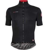 Castelli Prefetto Gore Windstopper And Nano Light Cycling Jersey Black