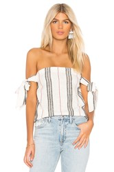 Bcbgeneration Cami Tie Sleeve Tube Top Cream
