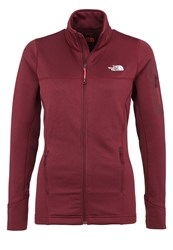 The North Face Kyoshi Fleece Deep Garnet Red Heather Mottled Dark Red
