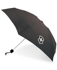 Victorinox Victornox Swiss Army Mini Umbrella Black
