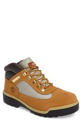 Timberland Men's Field Waterproof Hiking Boot Wheat Waterbuck