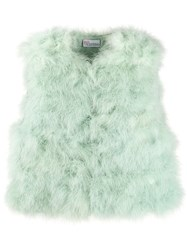 Red Valentino Feather Gilet 60