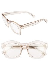 Tom Ford Women's 'Greta' 50Mm Sunglasses Transparent Pink Neutral Transparent Pink Neutral