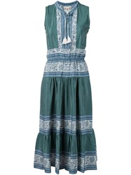 Sea 'Sabine' Peasant Dress Green