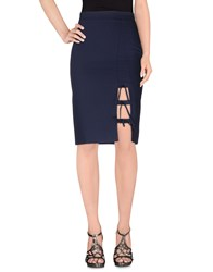 Denny Rose Skirts Knee Length Skirts Women Dark Blue