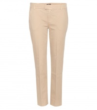 7 For All Mankind Cropped Chinos Beige