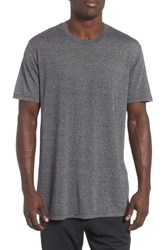Zella Active Crewneck T Shirt Grey Obsidian Heather
