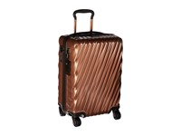 Tumi 19 Degree International Carry On Copper Carry On Luggage Bronze