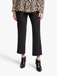 Marella Didy Cropped Trousers Black