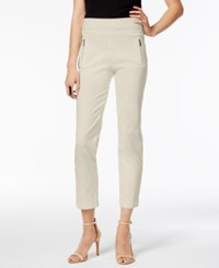 Inc International Concepts Cropped Straight Leg Pants Created For Macy's Toad Beige