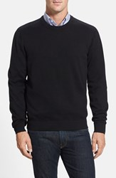 Men's Cutter And Buck 'Broadview' Crewneck Sweater Black