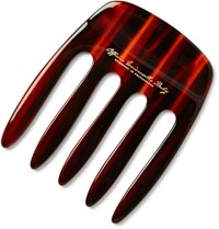 Buly 1803 Horn Effect Acetate Pick Comb Red