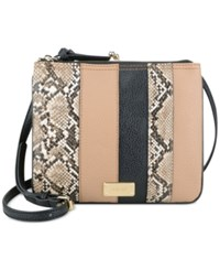 Nine West Jaya Animal Print Crossbody Brown Multi
