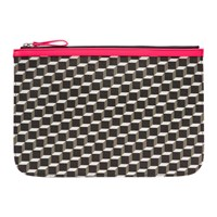 Pierre Hardy Pink Large Cube Pouch
