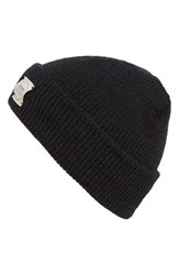 Men's Upstate Stock Knit Beanie Blue Navy Melange