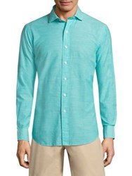 Polo Ralph Lauren Relaxed Fit Long Sleeve Shirt Green