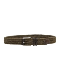 Fabrizio Mancini Belts Military Green