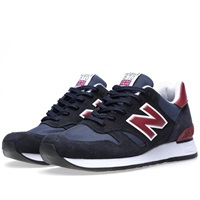New Balance M670snr Made In England Navy And Maroon
