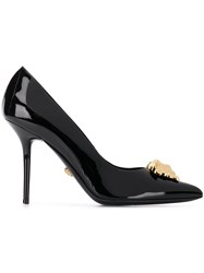Versace Patent Icon Pumps Black