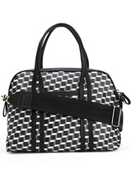 Pierre Hardy Rally Cube Tote Women Calf Leather One Size Black