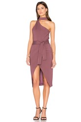 Lavish Alice Asymmetric Dress Mauve