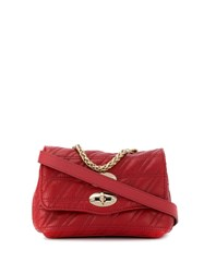 Zanellato Postina Superbaby Crossbody Bag Red