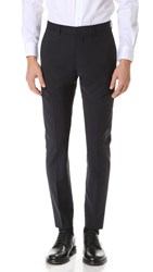 Club Monaco Grant Wool Suit Trousers Navy