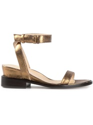 A.F.Vandevorst 'X3001' Sandals Metallic