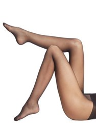 Wolford Individual 10 Back Seam Tights Black