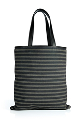 Marc Jacobs Linen Leather Tote