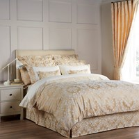 Christy Serena Duvet Cover Gold Double