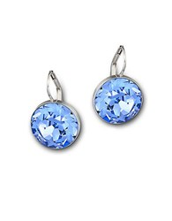 Swarovski Bella Crystal Mini Drop Earrings Blue