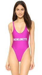 Private Party Bachelorette One Piece Pink
