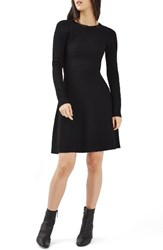 Topshop Women's Cutout Fit And Flare Dress