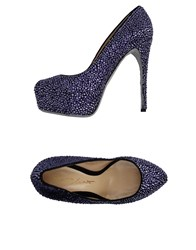Alberto Moretti Arfango Pumps Purple