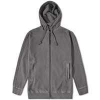 Mhi Maharishi Raw Cross Zip Hoody Black