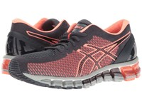 Asics Gel Quantum 360 Cm India Ink Flash Coral Mid Grey Women's Running Shoes Pink