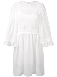 Mcq By Alexander Mcqueen Tunic Dress White