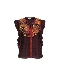 Manoush Blouses Brick Red