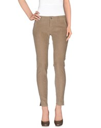 People Trousers Casual Trousers Women Khaki