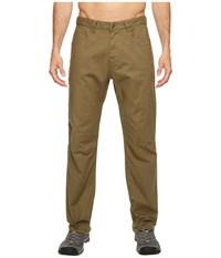 The North Face Relaxed Motion Pants Burnt Olive Green Men's Casual Pants