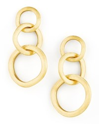Jaipur Link Gold Large Drop Earrings Marco Bicego