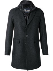 Herno Classic Single Breasted Coat Grey
