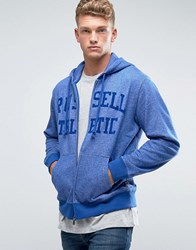 Russell Athletic Logo Zip Thru Hoodie Blue